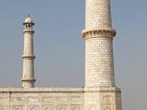 Minarete do Taj Mahal imagens de stock royalty free