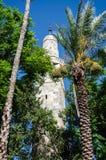 Minarete dos €™s de Sidna Omar Mosqueâ no Jerusalém, Israel foto de stock royalty free