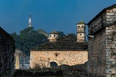 Minarete em Ioannina Grécia Fotografia de Stock