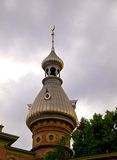 Minarete en la universidad de Tampa en HDR imagenes de archivo