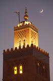 Minarete II da mesquita do livreiro Fotografia de Stock
