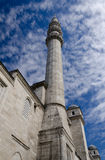 Minarete na mesquita Imagens de Stock