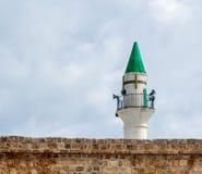 Minarete no acre Fotografia de Stock Royalty Free