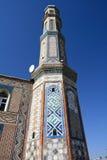 Minarete no Dushanbe Foto de Stock