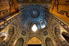 Minaretes de Qom em Irã Imagens de Stock