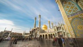 Minareti di Qom nell'Iran fotografia stock libera da diritti