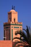minaretmoské Royaltyfri Fotografi