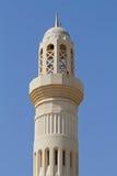minaretmoské oman Royaltyfri Foto
