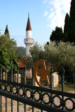 Minareto dei Balcani Fotografia Stock