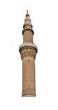 Minareto del mattone di Ulu Cami Immagine Stock