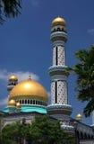 Minareto della moschea del Brunei immagini stock