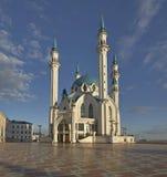Minareto della moschea di Qolsharif a Kazan La Russia Fotografia Stock Libera da Diritti