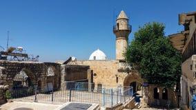 Minareto di Safed Fotografie Stock