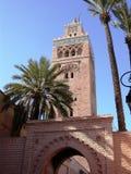 minareto famoso di koutoubia Immagine Stock Libera da Diritti