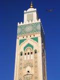 Minareto marocchino Fotografie Stock Libere da Diritti