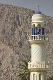 Minareto, Musandam. Fotografia Stock