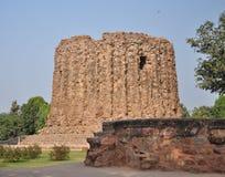 Minareto non finito, Qutub Minar, India Immagini Stock