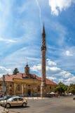 Minareto turco Fotografie Stock