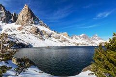 Minaretowy jezioro zdjęcia stock