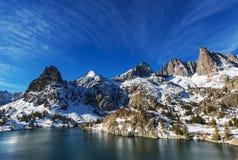 Minaretowy jezioro fotografia royalty free
