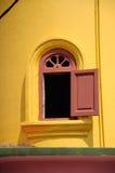 Minaretowy okno Batak Rabit meczet w Teluk Intan, Perak Fotografia Royalty Free