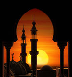 Minarets Photo stock