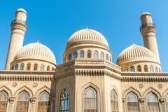Free Minarets And Domes Of The Bibi-Heybat Mosque In Baku Stock Photos - 155171363