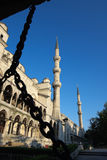 Minarets Blu Mosque Stock Photography