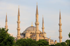 Sultan Ahmet Mosque in Istanbul Stock Photo