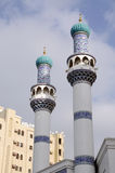 Minarets of an Iranian Mosque Stock Image