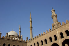 Minarets of mosques in Cairo,Egypt Stock Photo