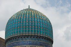 Minarets of Registan, Samarkand stock photo