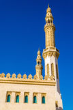 Minarets of Zabeel Mosque in Dubai Stock Images