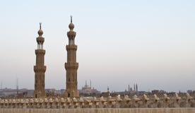 minaretsmoskéer Royaltyfria Bilder