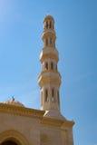 Minarett auf einer Moschee Lizenzfreies Stockbild