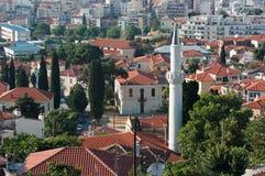 Minarett in der alten Stadt von Xanthi, Griechenland Lizenzfreie Stockbilder
