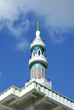 Minarett der Moschee Stockfotos