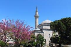 Minarett der Moschee Stockbilder