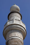 Minarett der Murad Reis Moschee, Rhodos lizenzfreie stockfotografie