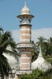 Minarett einer alten Moschee Stockfoto