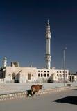 Minarett am Mittag Stockfotografie