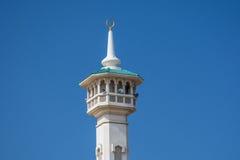 Minarett-Moschee Dubai Lizenzfreie Stockbilder