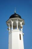 Minarett von Alwi-Moschee in Kangar Lizenzfreies Stockfoto