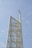 Minarett von Ara Damansara Mosque in Selangor, Malaysia Lizenzfreie Stockfotografie