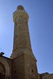 Minarett von Sidna Ali Mosque Stockfotografie