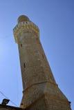Minarett von Sidna Ali Mosque Stockfoto
