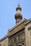 Minarettmoschee Stockfotografie