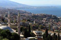 Minaretts und Moschee Stockbild
