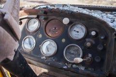 Minas abandonadas de Alquife da maquinaria Foto de Stock Royalty Free