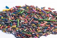 Minas coloridas dos lápis Foto de Stock